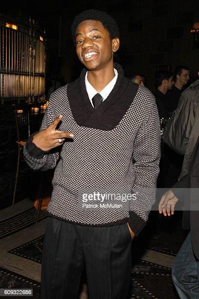 Jermaine Crawford attends AFTER PARTY for HBO FILMS' Screening of LIFE SUPPORT with Queen Latifah at Gotham Hall on March 5 2007 in New York City