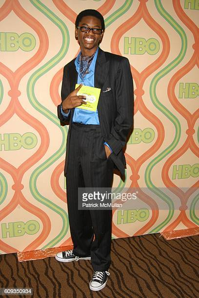 Jermaine Crawford attends HBO's Post GOLDEN GLOBE PARTY at CIRCA 55 on January 15 2007 in The Beverly Hilton Los Angeles