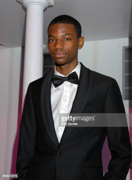 Jermaine Crawford attends the HOPE Inaugural Youth Ball at Trinity Center at Trinity University on January 17 2009 in Washington