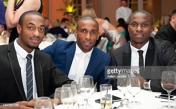 Jermaine Defoe attends The Prince's Trust Spring Ball at The Hurlingham Club on May 10, 2012 in London, England.