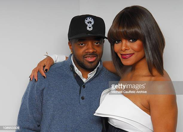 Jermaine Dupri and Janet Jackson during 2006 Billboard Music Awards Gallery at MGM Grand Hotel in Las Vegas Nevada United States