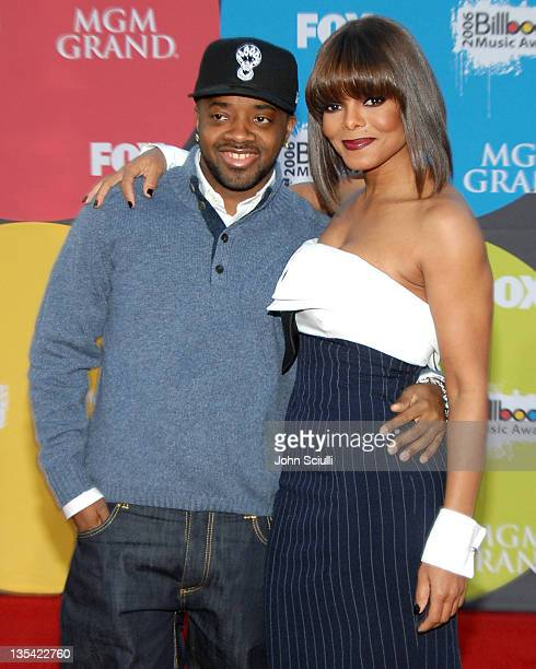 Jermaine Dupri and Janet Jackson during 2006 Billboard Music Awards Arrivals at MGM Grand Hotel in Las Vegas Nevada United States