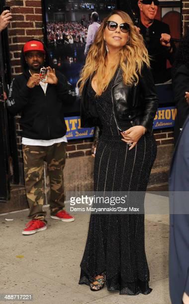 Jermaine Dupri and Mariah Carey seen on May 7 2014 in New York City