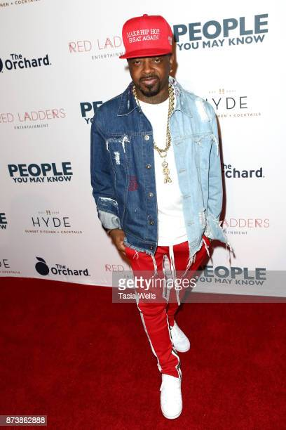 Jermaine Dupri at the premiere of The Orchard's 'People You May Know' at The Grove on November 13 2017 in Los Angeles California