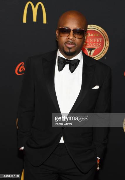 Jermaine Dupri attends the 26th Annual Trumpet Awards at Cobb Energy Performing Arts Center on January 20 2018 in Atlanta Georgia