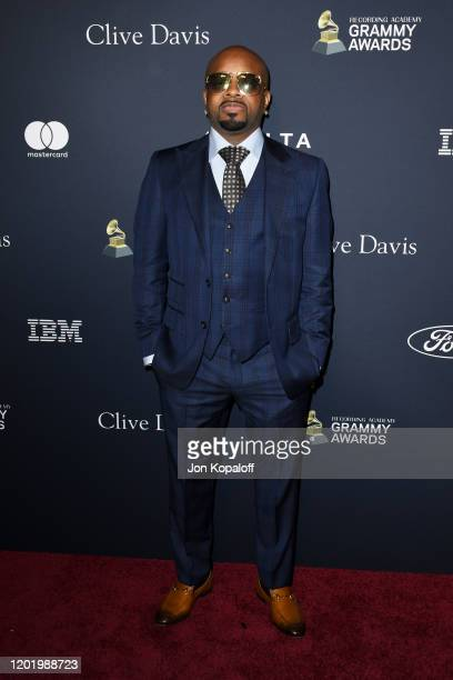 "Jermaine Dupri attends the Pre-GRAMMY Gala and GRAMMY Salute to Industry Icons Honoring Sean ""Diddy"" Combs on January 25, 2020 in Beverly Hills,..."