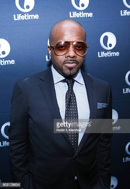Jermaine Dupri attends 'The Rap Game' screening at Suite Food Lounge on January 1 2016 in Atlanta Georgia