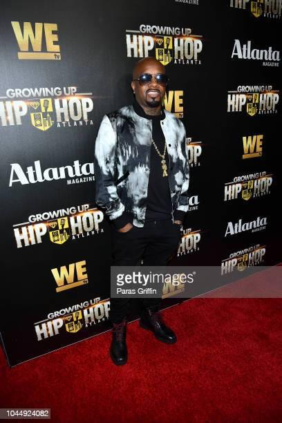 Jermaine Dupri attends WE tv Celebrates The Return Of Growing Up Hip Hop Atlanta at Club Tongue Groove on October 2 2018 in Atlanta Georgia