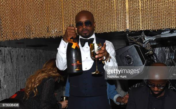Jermaine Dupri celebrates So So Def 25 and Songwriters Hall of Fame Induction at GoldBar Toasted by Moet Chandon on June 14 2018 in New York City