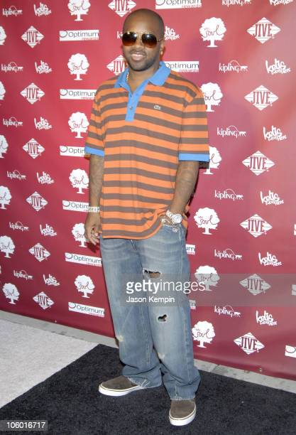 Jermaine Dupri during Kelis And VH1 Soul Present The Summer of Soul Party August 1 2006 at Crobar in New York City New York United States