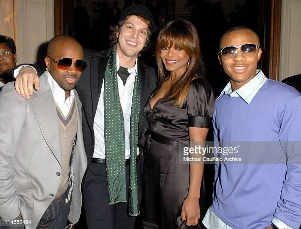 Jermaine Dupri Gavin DeGraw Janet Jackson and Bow Wow