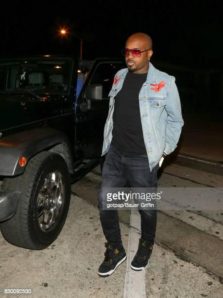 Jermaine Dupri is seen on August 10 2017 in Los Angeles California