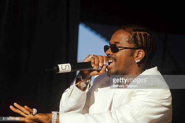 Jermaine Dupri performs onstage at the KMEL Jam at Shoreline Amphitheater in Mountain View California United States on 29th August 1998