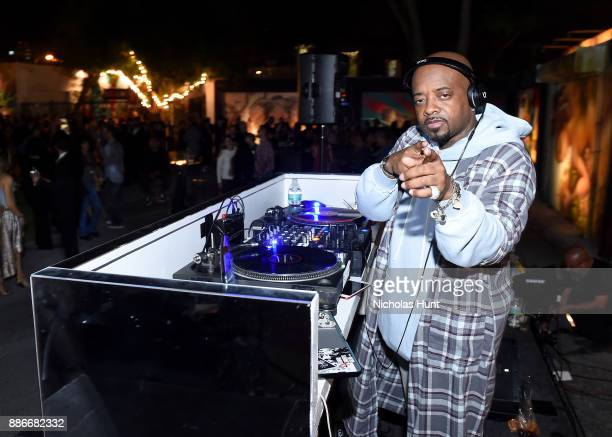 Jermaine Dupri performs onstage at Wynwood Walls Presents humanKIND 2017 at Wynwood Walls on December 5 2017 in Miami Florida