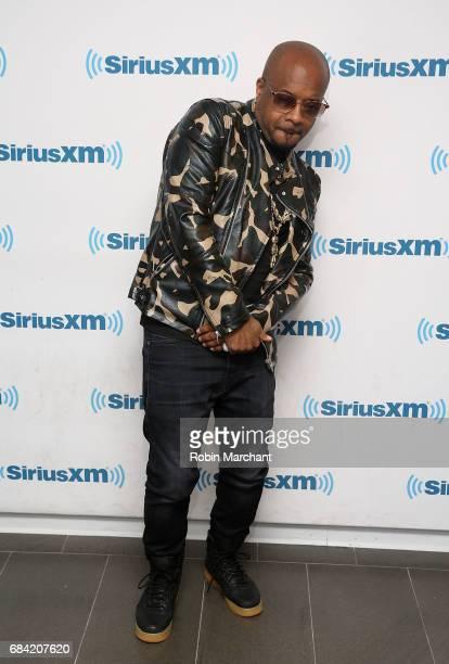Jermaine Dupri visits at SiriusXM Studios on May 17 2017 in New York City