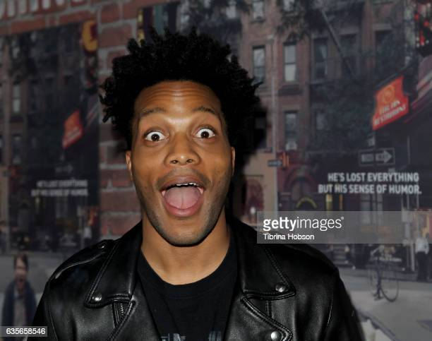 Jermaine Fowler attends the premiere of HBO's 'Crashing' at Avalon on February 15, 2017 in Hollywood, California.