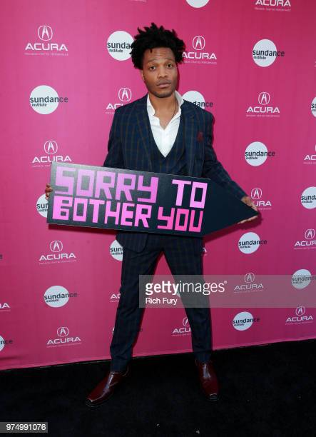 Jermaine Fowler attends the Sundance Institute at Sundown Summer Benefit at the Ace Hotel on June 14, 2018 in Los Angeles, California.