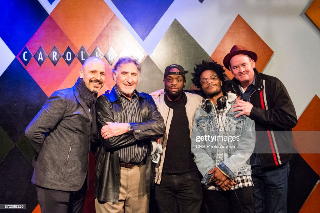 Jermaine Fowler, David Koechner, Rell Battle and Maz Jobrani perform their cross-country SUPERIOR DONUTS Comedy Tour at Caroline's Comedy Club in New York City on Thursday, October 26, 2017. Pictured L-R: Maz Jobrani, Judd Hirsch, Rell Battle, Jermaine Fowler, and David Koechner