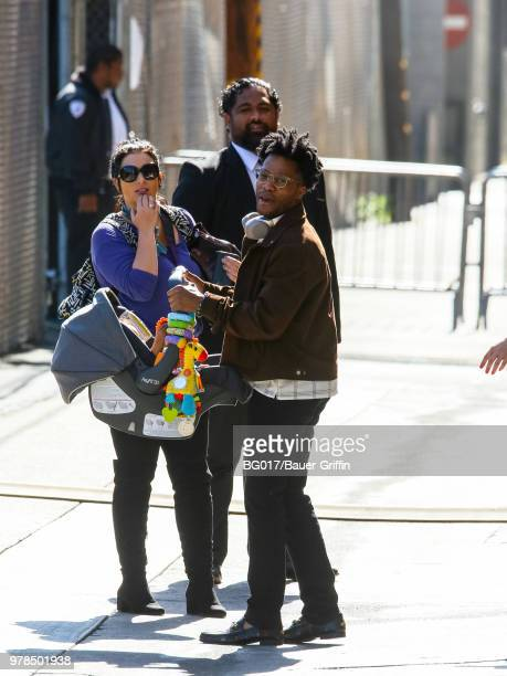Jermaine Fowler is seen arriving at the 'Jimmy Kimmel Live' on June 18, 2018 in Los Angeles, California.