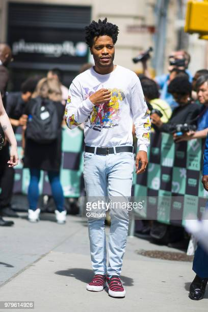 Jermaine Fowler is seen in NoHo on June 20, 2018 in New York City.
