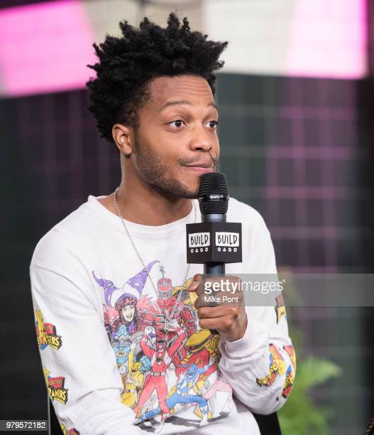 Jermaine Fowler visits Build Studio to discuss 'Sorry to Bother You' at Build Studio on June 20, 2018 in New York City.