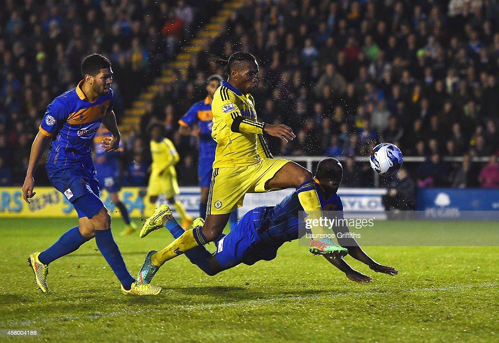 Shrewsbury Town v Chelsea - Capital One Cup Fourth Round : News Photo