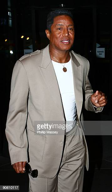 Jermaine Jackson appears on the Late Late Show on September 11 2009 in Dublin Ireland