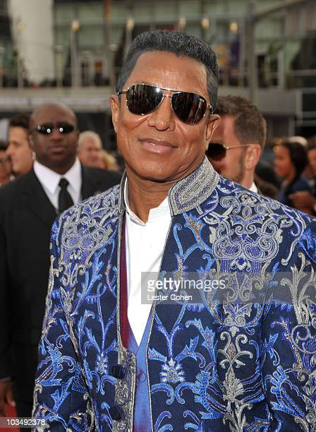 Jermaine Jackson arrives at the Los Angeles premiere of This Is It at Nokia Theatre LA Live on October 27 2009 in Los Angeles California