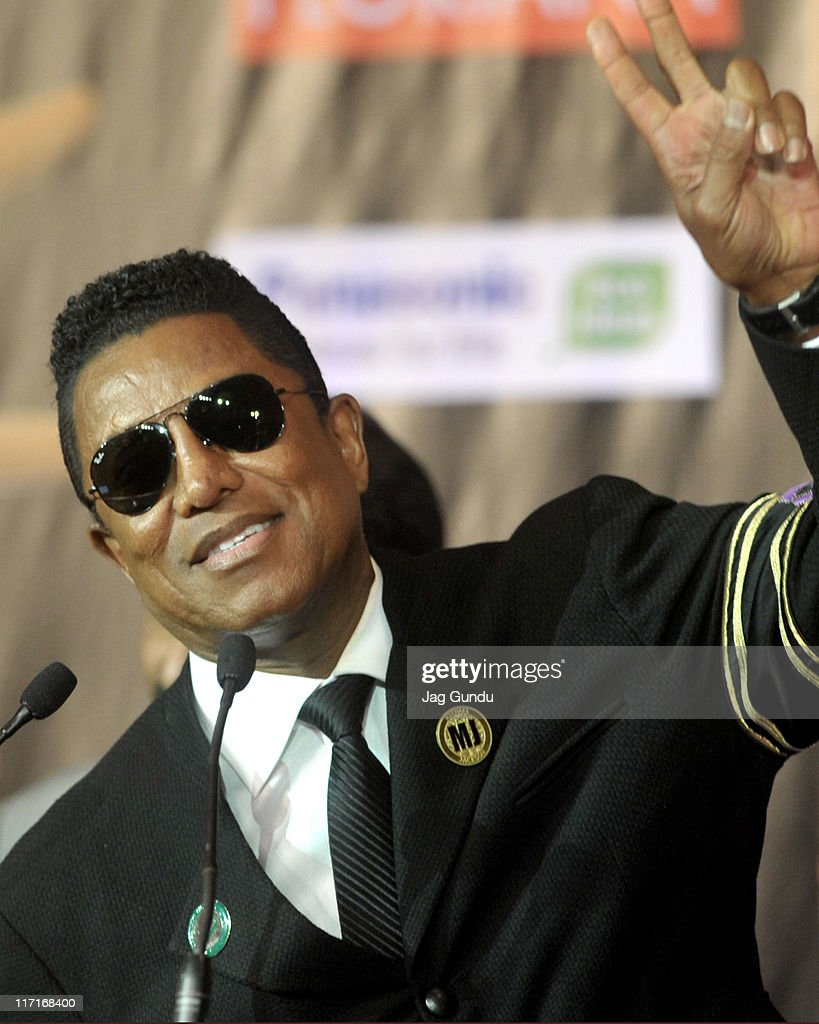 Jermaine Jackson at the official launch of the 2011 IFFA press conference at the Royal York Hotel on June 23, 2011 in Toronto, Canada.