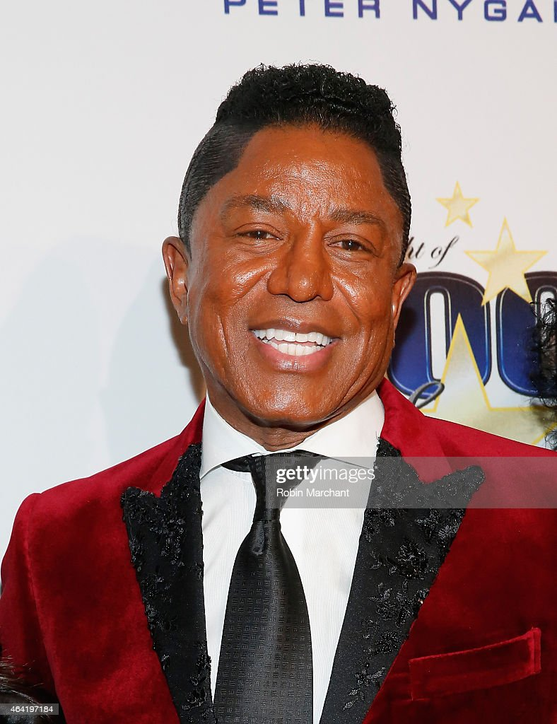 Jermaine Jackson attends the Norby Walters 25th Annual Night of 100 Stars Oscar Viewing Gala at The Beverly Hilton Hotel on February 22, 2015 in Beverly Hills, California.