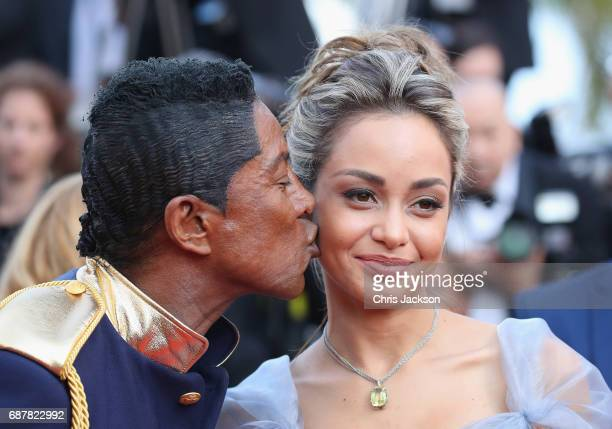 Jermaine Jackson attends the The Beguiled screening during the 70th annual Cannes Film Festival at Palais des Festivals on May 24 2017 in Cannes...