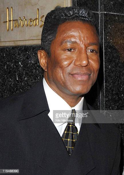 Jermaine Jackson during ''Harrods Rocks'' A Celebration of Rock Music and the Guitar Launch Party at Harrods in London Great Britain