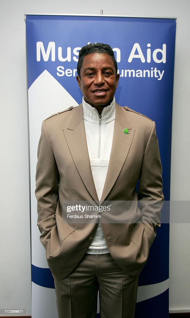 Muslim Aid News Conference with Jermaine Jackson