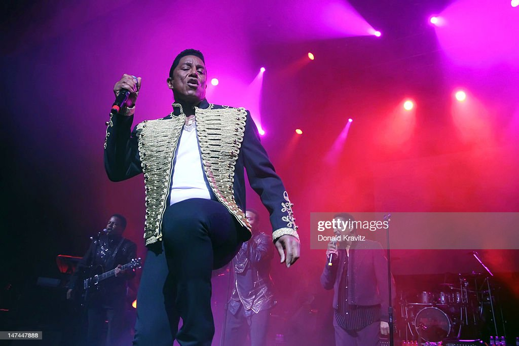 Jermaine Jackson performs during the The Jacksons Unity Tour at The Borgata Event Center on June 29, 2012 in Atlantic City, New Jersey.