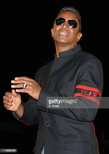 Jermaine Jackson runner up during Celebrity Big Brother 2007 Final Eviction at Elstree Studios in London Great Britain