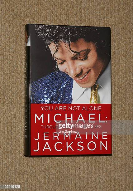 """Jermaine Jacksons' book """"You Are Not Alone: Michael Through A Brother's Eyes"""" at Bookends Bookstore on September 17, 2011 in Ridgewood, New Jersey."""