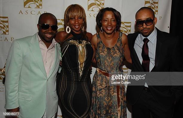 Jermaine JD Dupri Mary J Blige Jeanie Weems of ASCAP and Johnta Austin