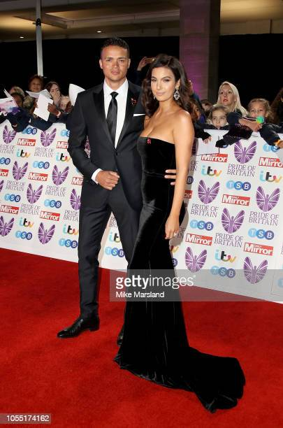 Jermaine Jenas and Ellie Penfold attend the Pride of Britain Awards 2018 at The Grosvenor House Hotel on October 29, 2018 in London, England.