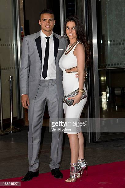 Jermaine Jenas attends a Testimonial gala dinner for footballer Ledley King at London Hilton on May 7 2013 in London England