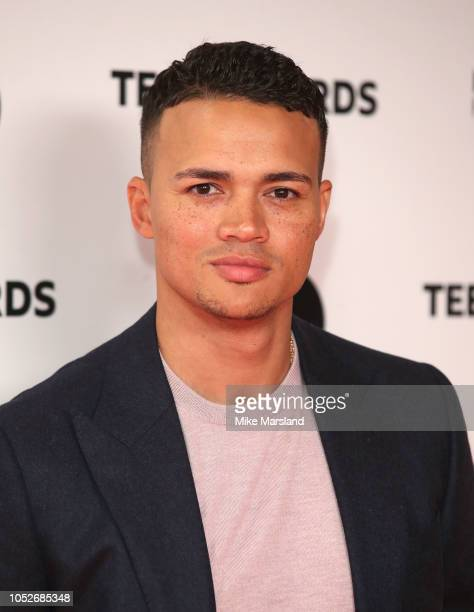 Jermaine Jenas attends the BBC Radio 1 Teen Awards on October 21 2018 in London United Kingdom
