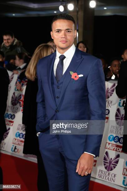 Jermaine Jenas attends the Pride Of Britain Awards at Grosvenor House on October 30 2017 in London England
