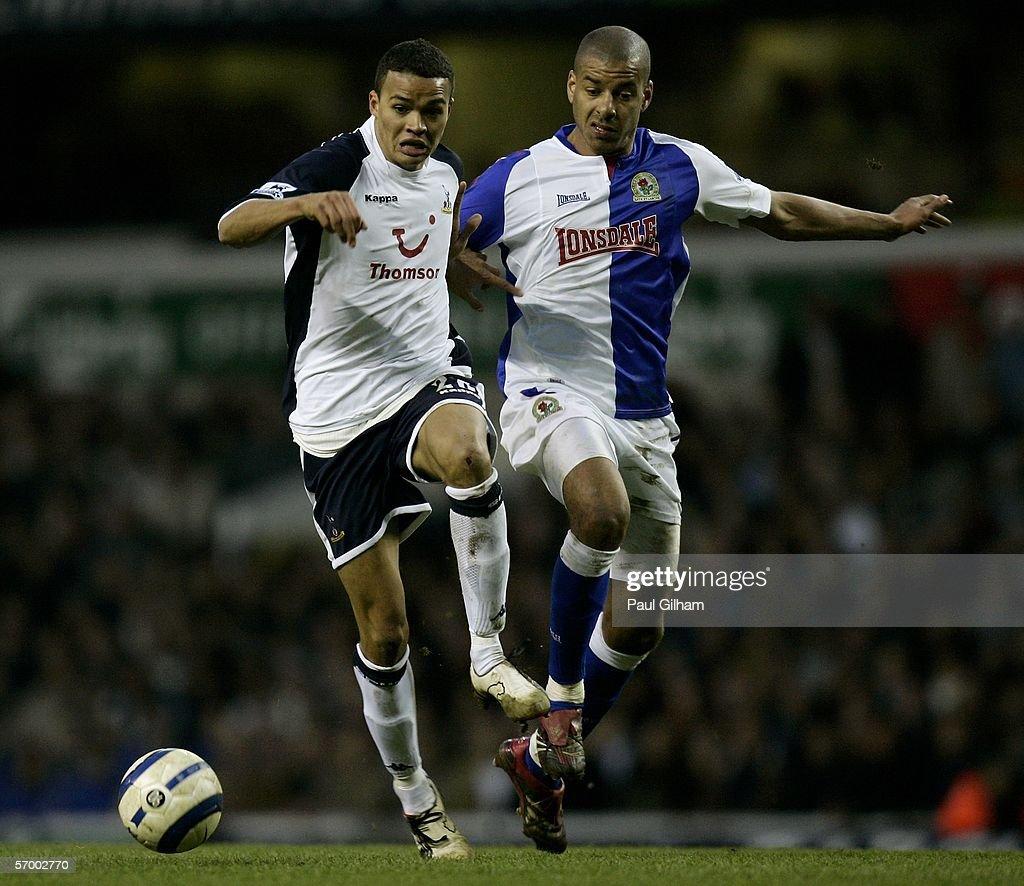 Tottenham Hotspur v Blackburn Rovers : News Photo