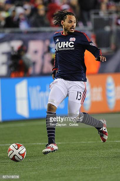 Jermaine Jones New England Revolution in action during the New England Revolution Vs New York Red Bulls MLS Eastern Conference Final second leg...