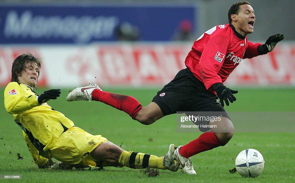 Eintracht Frankfurt v Borussia Dortmund : News Photo