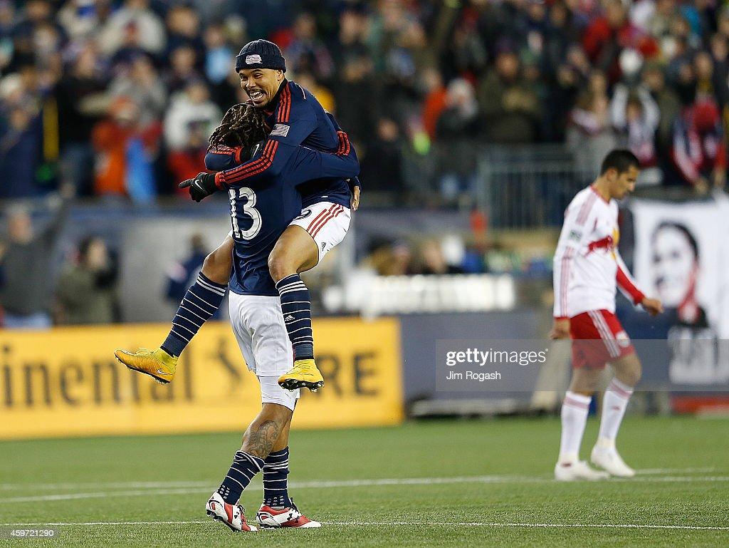 New York Red Bulls v New England Revolution - Eastern Conference Final - Leg 2 : News Photo