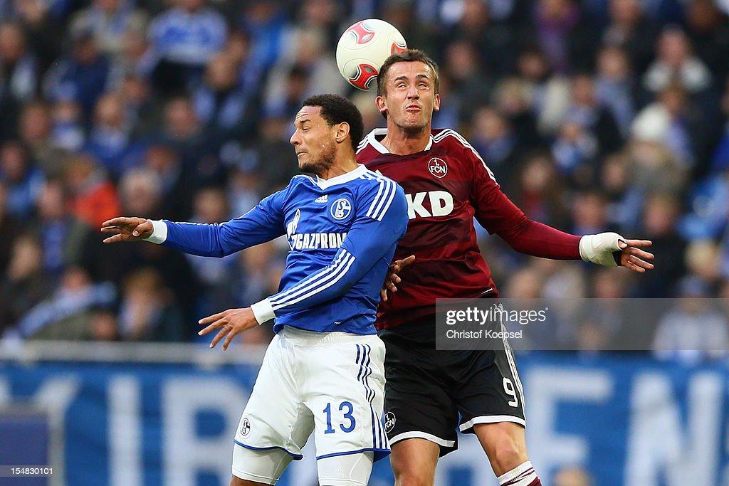 FC Schalke 04 v 1. FC Nuernberg - Bundesliga