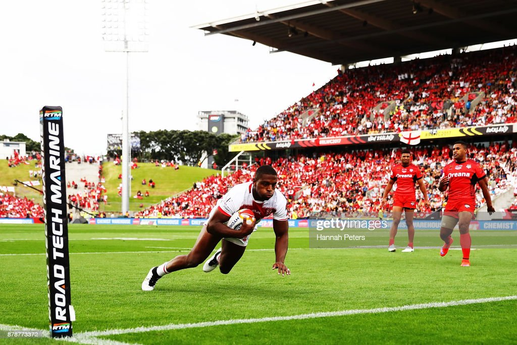 2017 Rugby League World Cup - Semi Final 2: Tonga v England : Nyhetsfoto