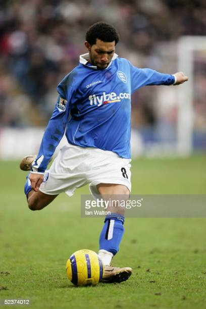 Jermaine Pennant of Birmingham City in action during the Barclays Premiership match between Crystal Palace and Birmingham City at Selhurst Park on...