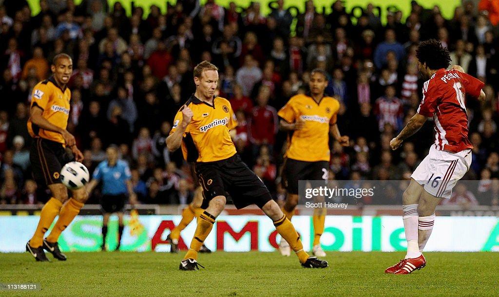 Stoke City v Wolverhampton Wanderers - Premier League