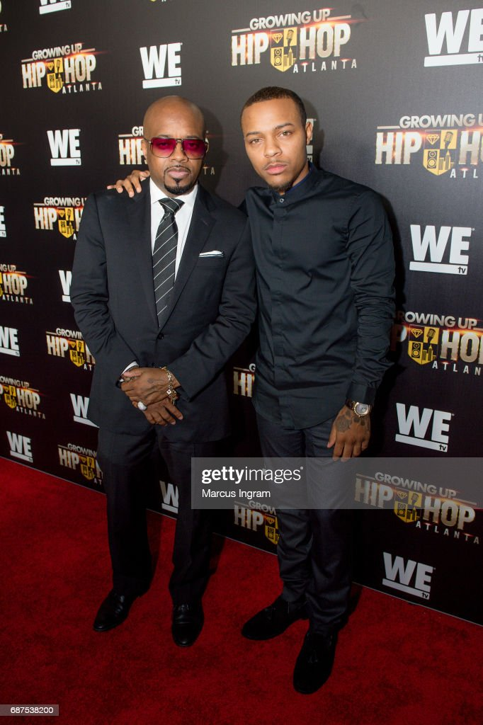 Jermanie Dupri and Shad Moss attend the 'Growing Up Hip Hop Atlanta' premiere at Woodruff Arts Center on May 23, 2017 in Atlanta, Georgia.